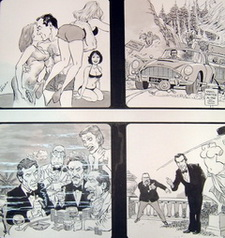Artworks & Karikaturen